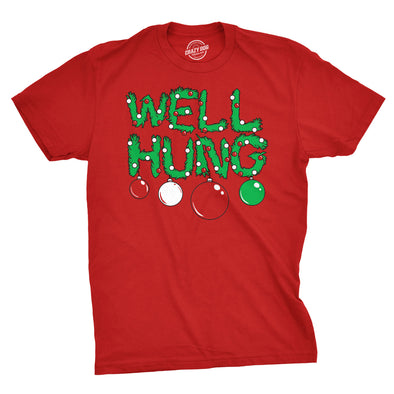Well Hung Ornament Men's Tshirt