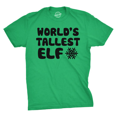 World's Tallest Elf Men's Tshirt