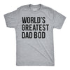 World's Greatest Dad Bod Men's Tshirt