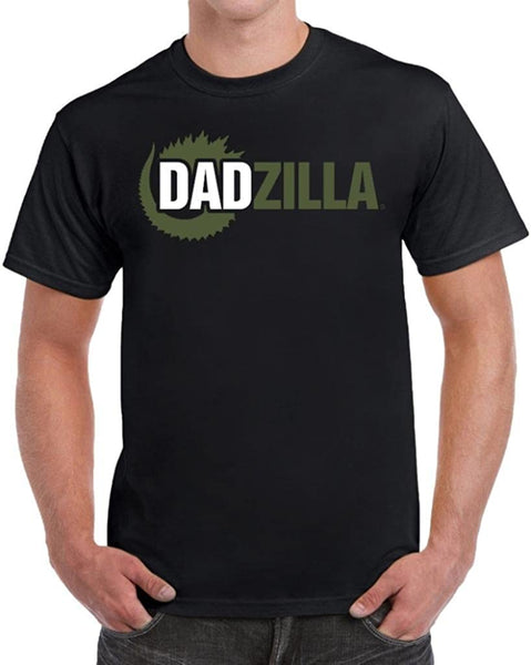 Dadzilla Birthday Gifts for Dad Fathers Day Novelty Parody T-Shirt
