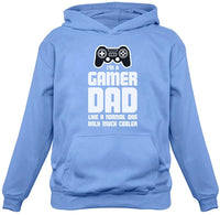 TeeStars - Gamer Dad - Gift for Fathers Cool Dad's Gaming Hoodie