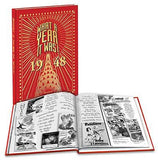 1948: What a Year it Was! - Hardcover Coffee Table Birthday Book (2nd Edition)