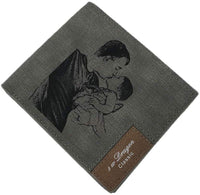 Custom Wallets for Men Photo Wallet Dad Wallet Personalized Picture wallet for Husband