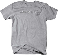 SRT Hellcat Charger Challenger Racing T Shirt for Men