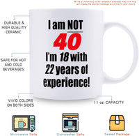 46th Birthday Gifts for Men - 1973 Birthday Gifts for Men, 46 Years Old Birthday Gifts Coffee Mug for Dad, Husband, Friend, Brother, Him, Colleague, Coworker - 11oz