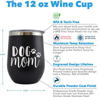 This is Probably Crown & Coke - Engraved 12 oz Stemless Wine Tumbler Cup Glass Etched - Funny Birthday Gift Ideas for him, her, mom, dad, husband, wife (Pink - 12 oz)