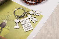 Personalized Father's Day Gift- Custom Keychain for Dad Grandpa