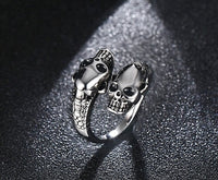 Free Fan Cool Retro Punk Exaggerated Men Snake Ring Fashion Personality Snake Opening Adjustable Ring Jewelry For Mens Gift