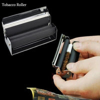 70mm Cigarette Rolling Machine Manual Blunt Fast Cigar Tobacco Roller Injector Metal Joint Maker For Raw Rolling Paper Men Gifts