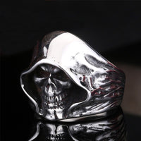 Finger  Biker  Silver Cool Men Retro Gothic 1pc Sale Shantou Ring Aolly Punk Personality   Jewelry