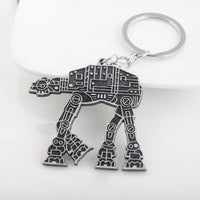 RJ Hot Sale New Fashion Star Wars Spaceship Sign Keychain Cool Falcon Keyrings Alloy Pendant Keyring Men Jewelry Accessories
