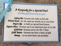 Novelty Keepsake Christmas Gift for Daddy Dad Father Birthday Gift for him men