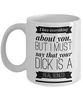 Valentines Day Funny Gifts for Him Husband Boyfriend Anniversary Mug Adult Humor