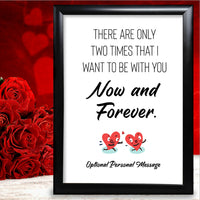 Mr & Mrs Anniversary Gifts Personalised Card Couples For Him Her Husband Wife