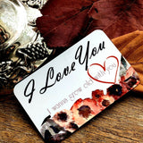 wedding Gifts for him her bride groom Personalise Love unusual partner present
