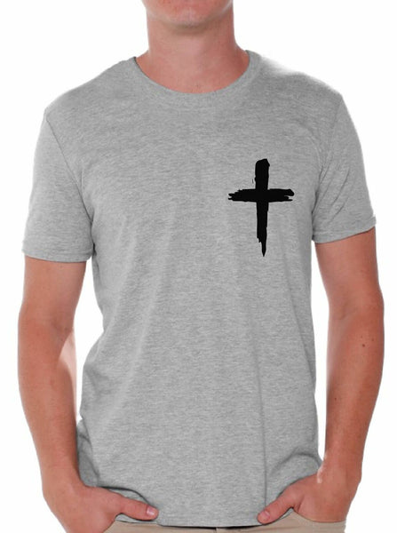 Christian Shirts Cross Shirts for Men Religious Gifts for Him Christianity