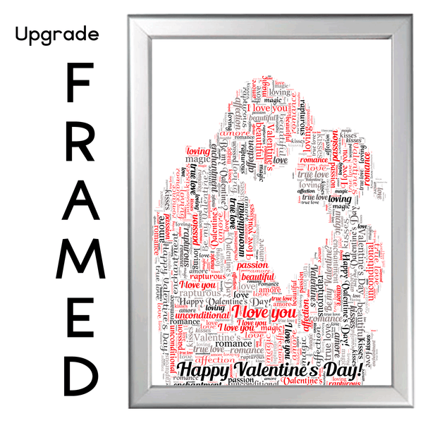 DAD WORD ART PERSONALISED GIFT FOR HIM ON FATHER'S DAY DAD DADDY FATHER LOVE MAN