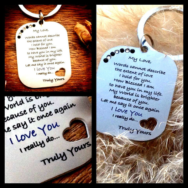Gifts for him mens her christmas xmas Womens Love Romantic Heart husband Wife