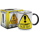 Funny Novelty Mug. Retro Humour Coffee Cup Funky Cool Unique Gift for Him or Her
