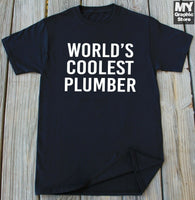 Plumber Shirt Christmas Birthday Gifts for him Funny Plumbing Lover T shirt