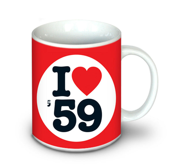 Birthday | Anniversary Gifts - 1959 Mug For Him and Her