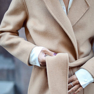 The new wool coat