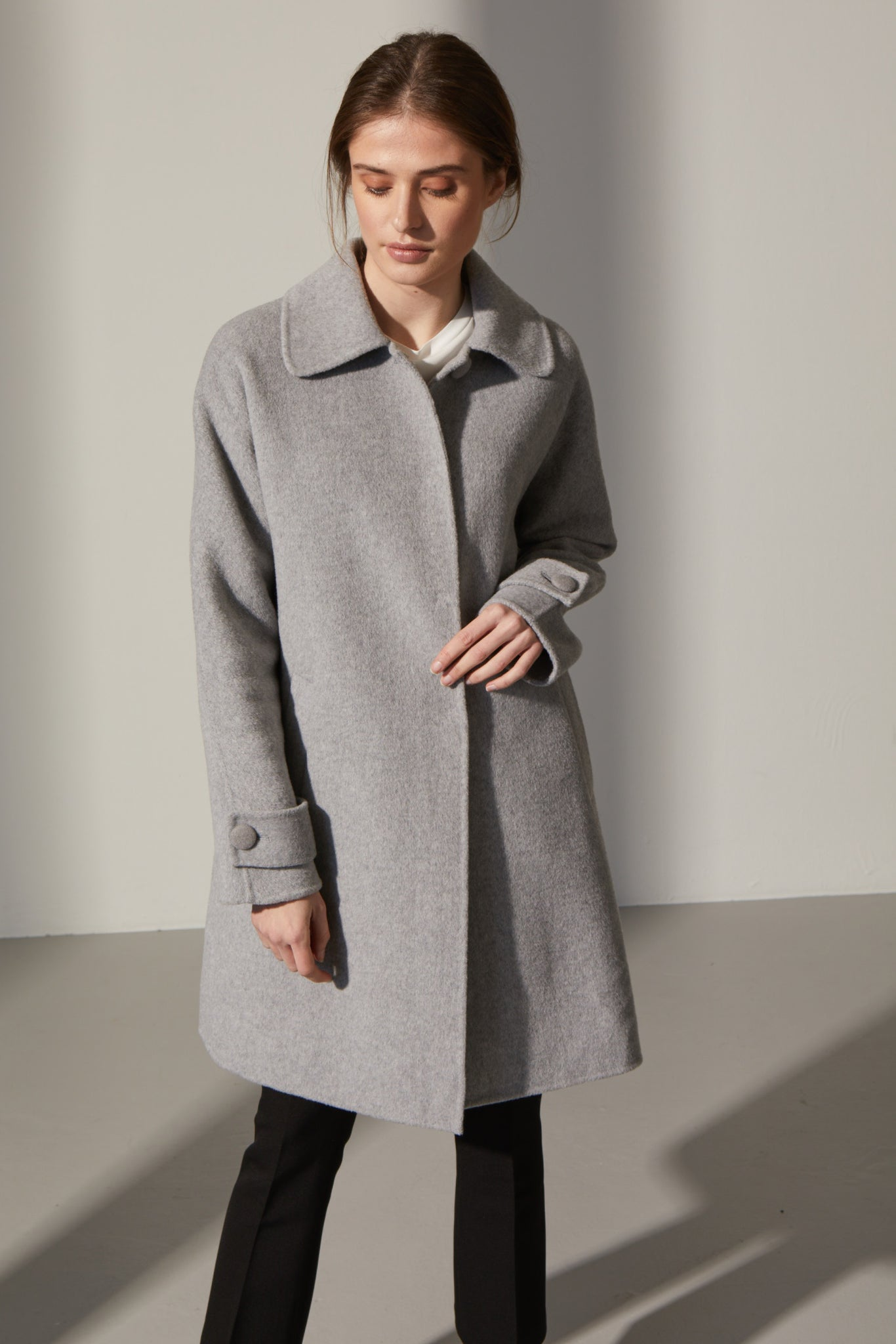 Carolyn Wool Coat