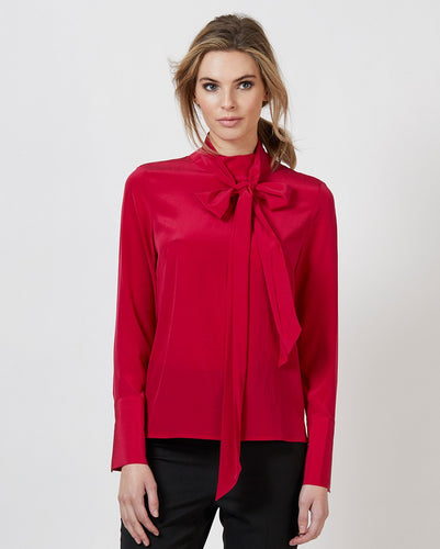 Alexa Silk Blouse
