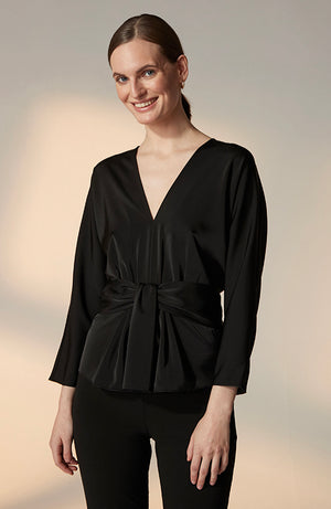 Arabella Satin Blouse