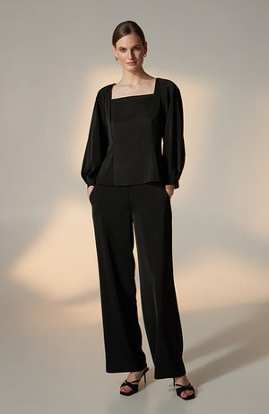 Ingrid Satin Trousers