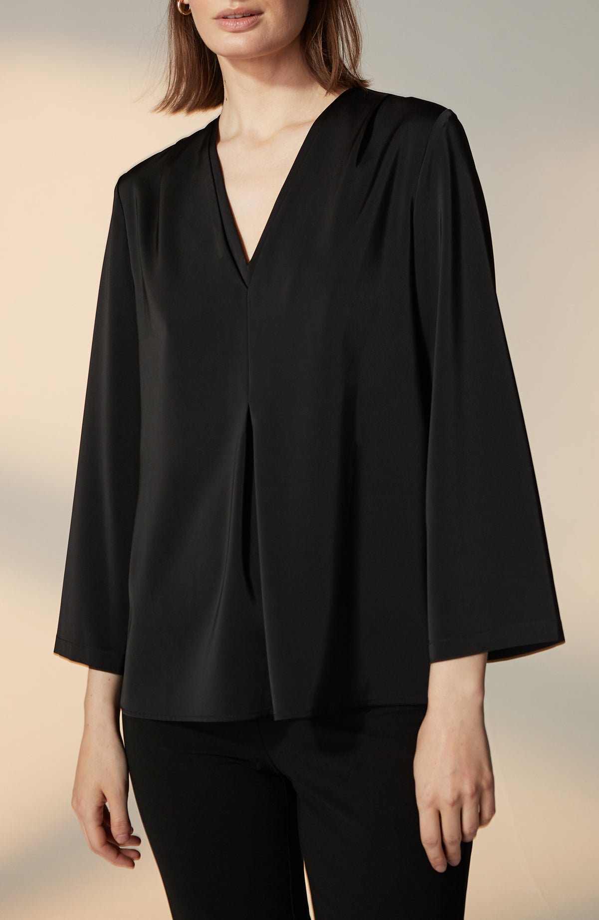 Lucy Satin Blouse