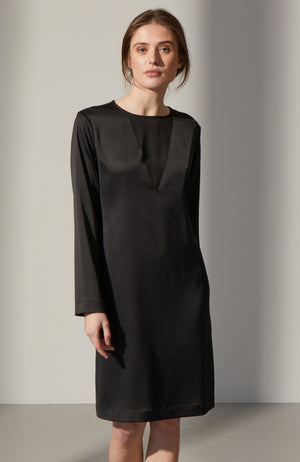 Penelope Satin Dress