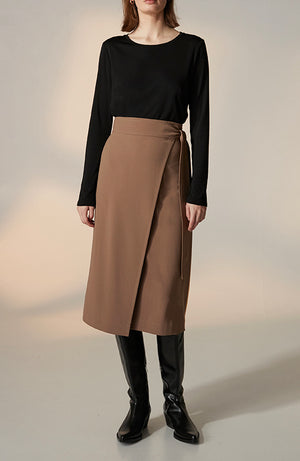 Ruth Long Wrap Skirt