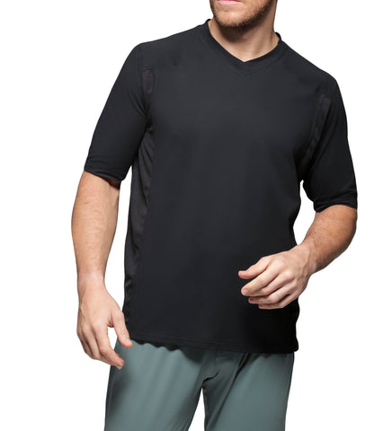 Men's High V-Neck T-Shirt Loungewear