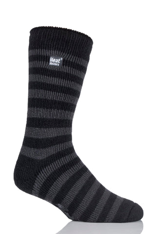 Men's Stripe Slipper Socks