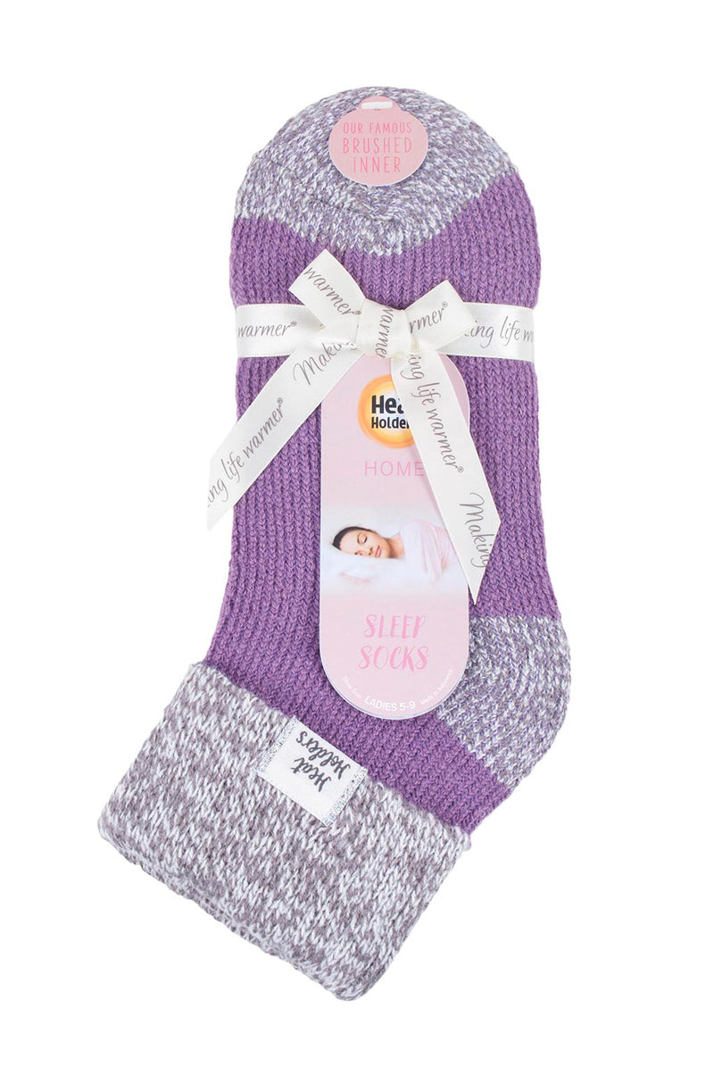 Women's Rib Cuff Sleep Socks Packaging