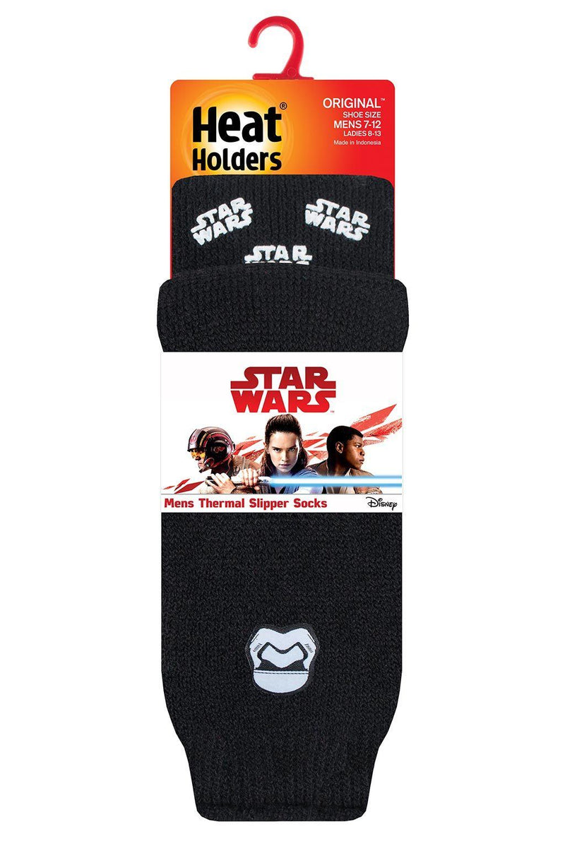 Men's Star Wars Slipper Socks Packaging