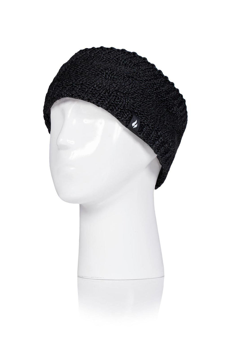 Women's Black Headband