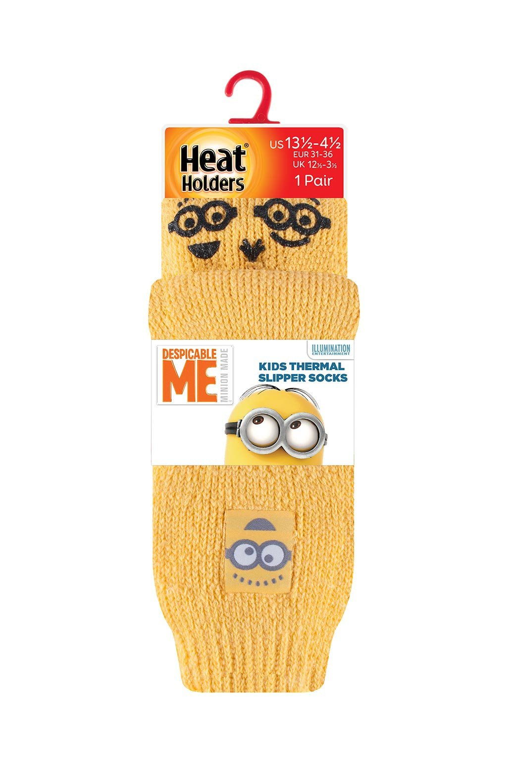 Kinds Minions Slipper Socks Packaging