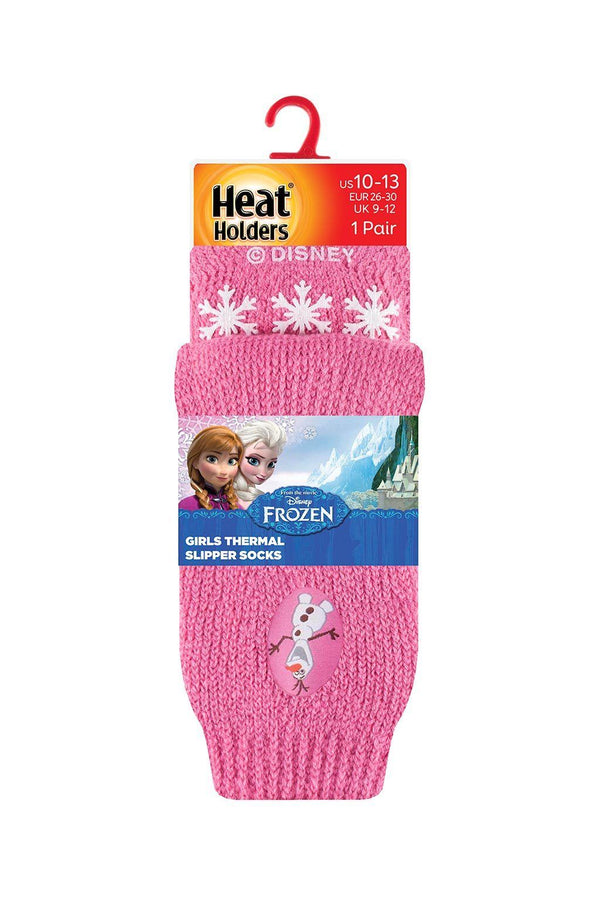 Kids Frozen Olaf Slipper Socks Packaging