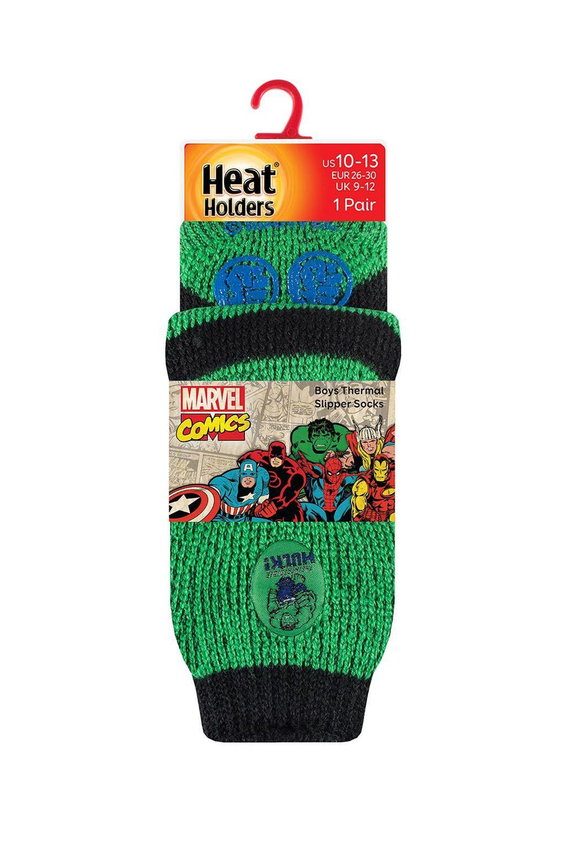 Kids Hulk Slipper Socks