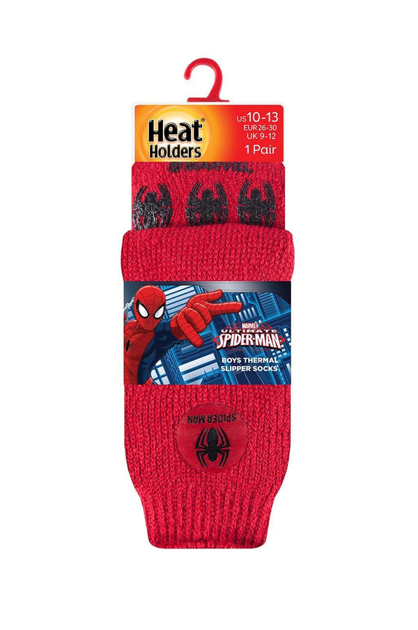 Kids Spider-Man Slipper Socks Packaging