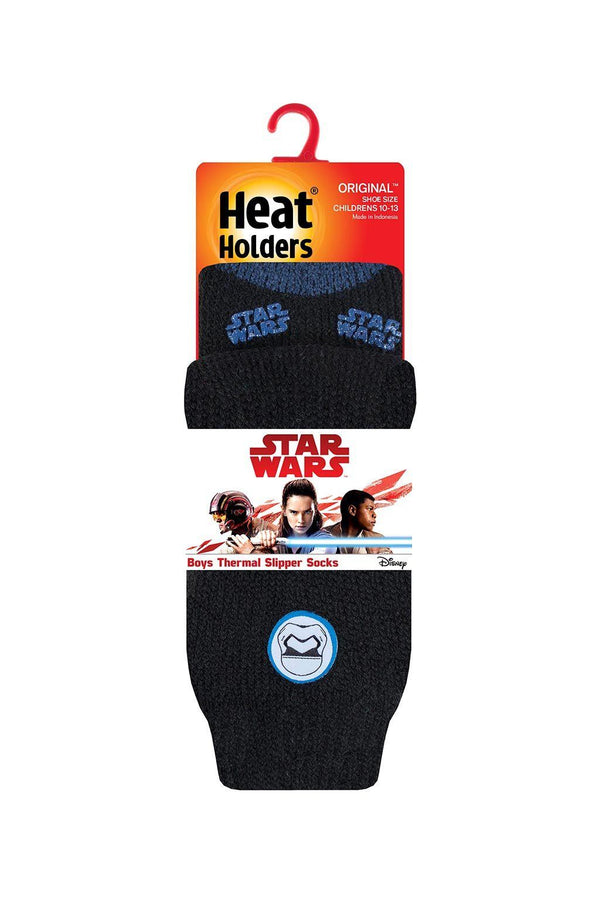 Kids Star Wars Stormtrooper Slipper Socks Packaging