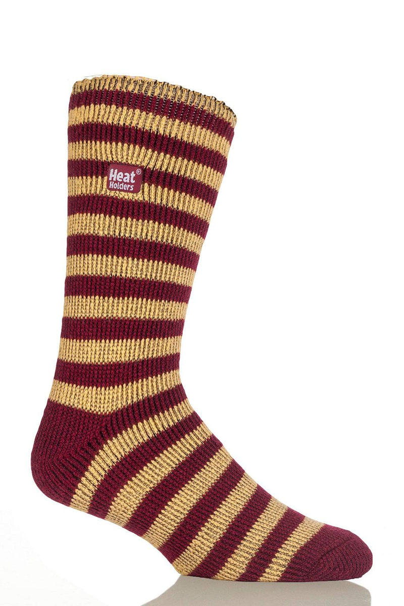 Maroon & Gold Stripe