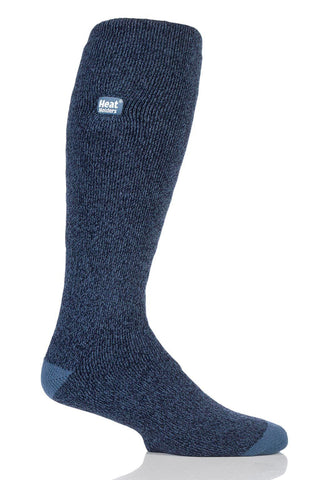 Men's Twist Long LITE socks - Navy/Denim