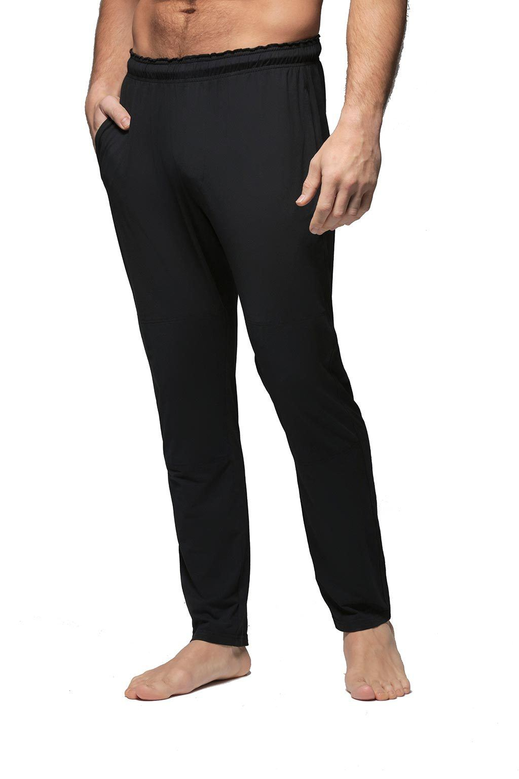 Men's Slim-Leg Jogger Loungewear - Black