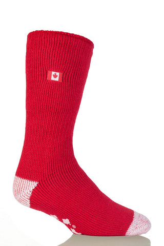 Men's Canada Flag Slipper Socks