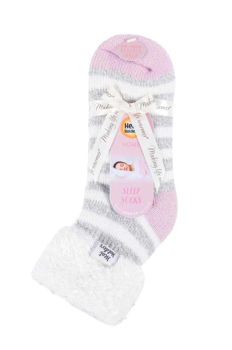 Women's Feather Cuff Sleep Socks Packaging