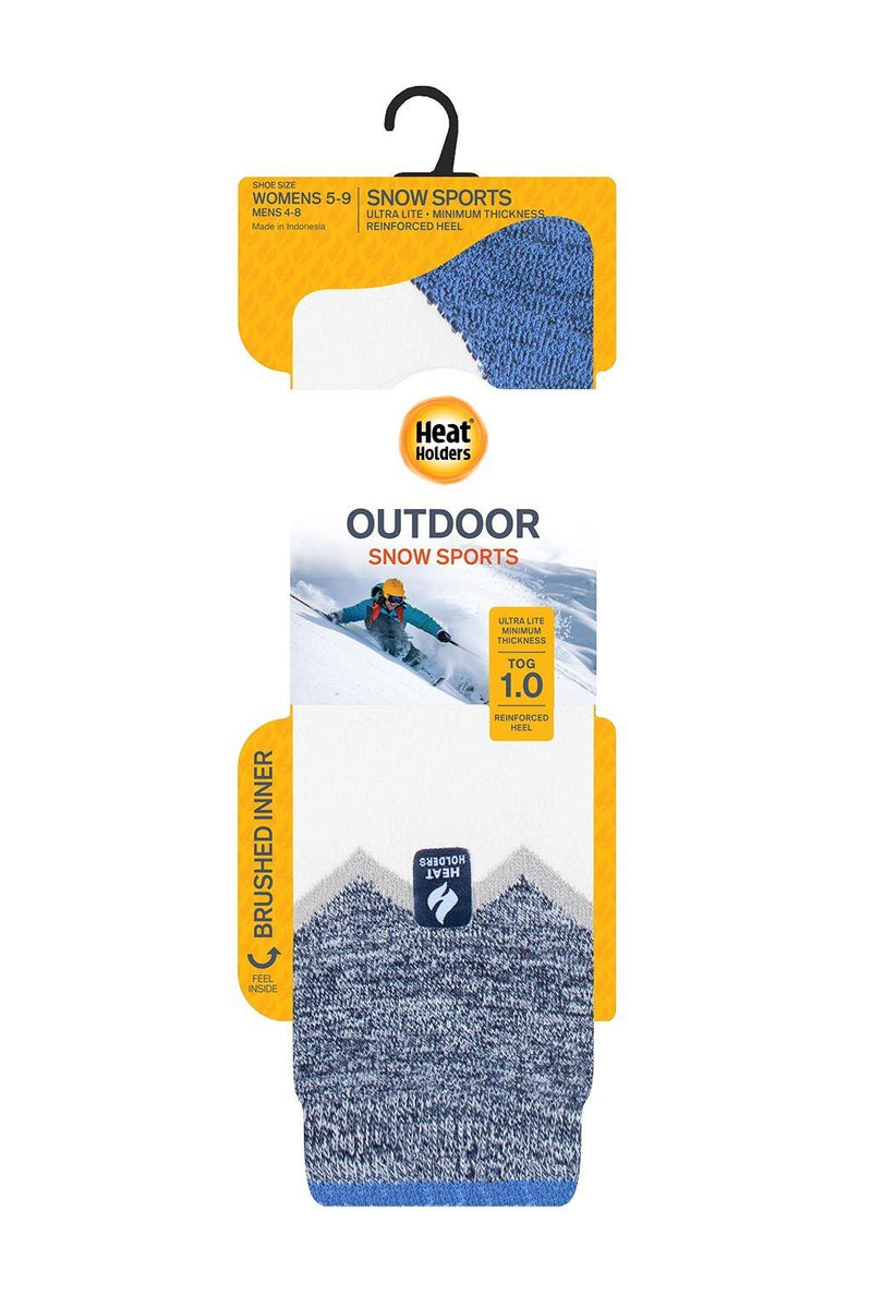 Women's Long Zig Zag ULTRA LITE™ Snow Sports Socks Packaging