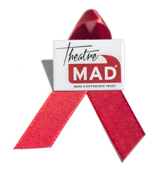Theatre MAD Trust Pin Badge & Ribbon
